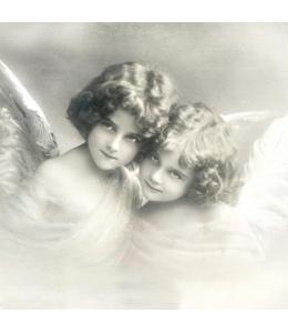 "Салфетка для декупажа SVD2062 ""Милые ангелочки"", 33х33 см, Sagen Vintage Design, Норвегия"