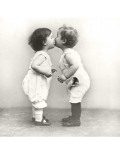 """Салфетка для декупажа SVD2063 """"Целующиеся дети"""", 33х33 см, Sagen Vintage Design, Норвегия"""
