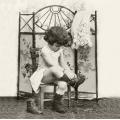 "Салфетка для декупажа SVD2081 ""Модница"", 33х33 см, Sagen Vintage Design, Норвегия"