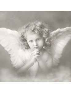 "Салфетка для декупажа SVD2089 ""Молитва ангелочка"", 33х33 см, Sagen Vintage Design, Норвегия"