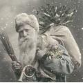 "Салфетка для декупажа SVD80008 ""Санта"", 33х33 см, Sagen Vintage Design, Норвегия"