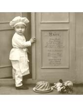 """Салфетка для декупажа SVD80012 """"Маленький повар"""", 33х33 см, Sagen Vintage Design, Норвегия"""