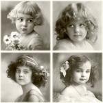 """Салфетка для декупажа SVD80017 """"Четыре девочки"""", 33х33 см, Sagen Vintage Design, Норвегия"""