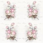 """Салфетка для декупажа SVD80049 """"Декоративные розы"""", 33х33 см, Sagen Vintage Design, Норвегия"""