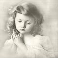 """Салфетка для декупажа SVD80053 """"Молитва"""", 33х33 см, Sagen Vintage Design, Норвегия"""