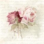 """Салфетка для декупажа SVD80055 """"Винтажная роза"""", 33х33 см, Sagen Vintage Design, Норвегия"""