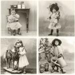 """Салфетка для декупажа SVD80065 """"Маленькие дети"""", 33х33 см, Sagen Vintage Design, Норвегия"""