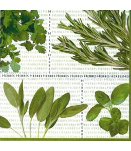 "Салфетка для декупажа M74163 ""Пряные травы"", 33х33 см, Австрия"