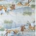 Салфетка новогодняя для декупажа Зимняя прогулка, 33х33 см