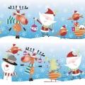 "Салфетка для декупажа SDGW005801 ""Рождественские персонажи"", 33х33 см, POL-MAK"