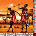 "Салфетка для декупажа SDOG006101 ""Африка"", 33х33 см, Германия"