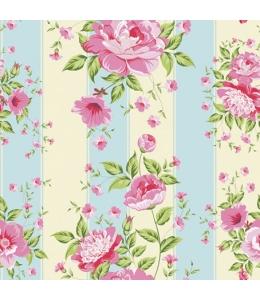 """Салфетка для декупажа SDOG012901 """"Розовые цветы"""", 33х33 см"""