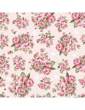 """Салфетка для декупажа SDOG013001 """"Букетики из роз"""", 33х33 см, POL-MAK"""