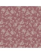 """Салфетка для декупажа SDOG017304 """"Розочки на темно-розовом"""", 33х33 см, POL-MAK"""