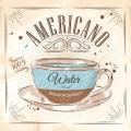 "Салфетка для декупажа SDOG020601 ""Кофе Американо"", 33х33 см, POL-MAK"