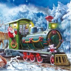 Новогодние и Рождественские салфетки для декупажа