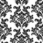 "Салфетка для декупажа SLOG001809 ""Черно-белый орнамент"", 33х33 см"