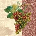 """Салфетка для декупажа SLOG004902 """"Виноград"""", 33х33 см"""