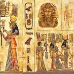"Салфетка для декупажа SLOG015601 ""Древний Египет"", 33х33 см"