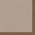 "Салфетка для декупажа SLOG022108 ""Коричневая клетка"", 33х33 см"