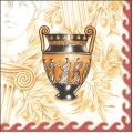"Салфетка для декупажа SLOG029201 ""Греческая ваза"", 33х33 см, POL-MAK"