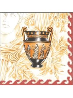 Салфетка для декупажа Греческая ваза, 33х33 см
