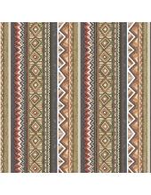 """Салфетка для декупажа SLOG033601 """"Этнический орнамент"""", 33х33 см, POL-MAK"""