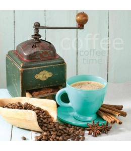 """Салфетка для декупажа SLOG035901 """"Время кофе"""", 33х33 см, POL-MAK"""