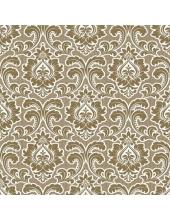 "Салфетка для декупажа SLOG037601 ""Орнамент барокко золотой"", 33х33 см, POL-MAK"