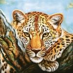 "Салфетка для декупажа SLOG041601 ""Леопард"", 33х33 см, POL-MAK"