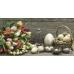 Салфетка для декупажа Тюльпаны и птичьи яйца, 33х33 см, POL-MAK