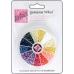 Стразы круглые перламутровые в органайзере, пластик, 12 цветов, 3 мм, DoCrafts