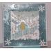 Штамп новогодний для скрапбукинга Рождественская ночь Michael Powell, 9,5х9,5 см, DoCrafts