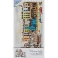 """Набор для изготовления открытки с высечкой """"Городок у моря"""", Michael Powell, DoCrafts"""