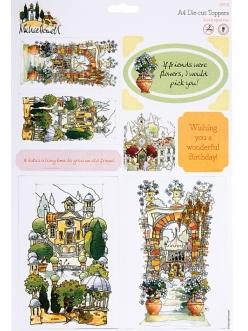 Набор высечки для скрапбукинга Тоскана, коллекция Michael Powell, DoCrafts