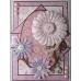 Набор высечки фигурной с глиттером Parkstone Pink, розовый, 18 щт., Papermania