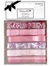 Набор лент, коллекция Parkstone Pink, розовые, 6 штук по 1 м, DoCrafts