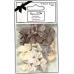 Набор бантиков в пастельных бежевых тонах, коллекция Lincoln Linen, 20 штук, DoCrafts