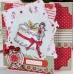 """Штамп резиновый Tulip Christmas """"Рождественский торт"""", 9,5х9,5 см, DoCrafts"""