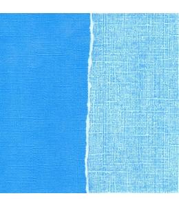 Бумага для скрапбукинга с внутренним слоем COR190, небесно-голубая, 30,5х30,5 см, DoCrafts
