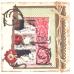Бумага для скрапбукинга с внутренним слоем COR242, кофейная, 30,5х30,5 см, DoCrafts
