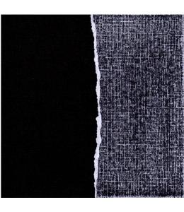 Бумага для скрапбукинга с внутренним слоем COR256, черно-серая, 30,5х30,5, Docrafts