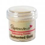 Пудра для эмбоссинга, цвет золотой перламутр, 28,3 г, Papermania (Великобритания)