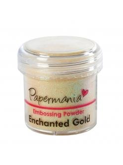 Пудра для эмбоссинга, цвет золотой перламутр, 28,3 г, Papermania