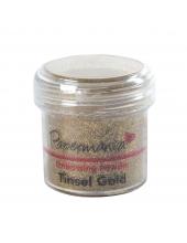 Пудра для эмбоссинга, цвет золотые блестки, 28,3 г, Papermania (Великобритания)