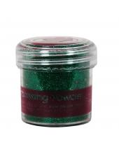 Пудра для эмбоссинга, цвет зеленые блестки, Papermania (Великобритания)