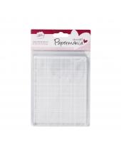 Блок для штампов акриловый прозрачный Papermania, 10,2х13,3 см