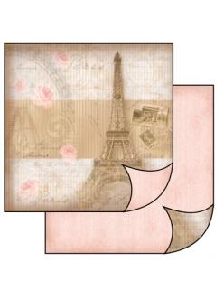 Бумага для скрапбукинга Париж Stamperia, 31,2х30,3 см