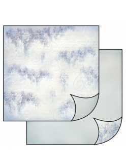 Бумага для скрапбукинга Нежная глициния Stamperia, 31,2х30,3 см