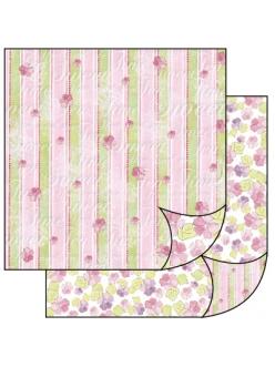Бумага для скрапбукинга Сладкое время Stamperia, 31,2х30,3 см